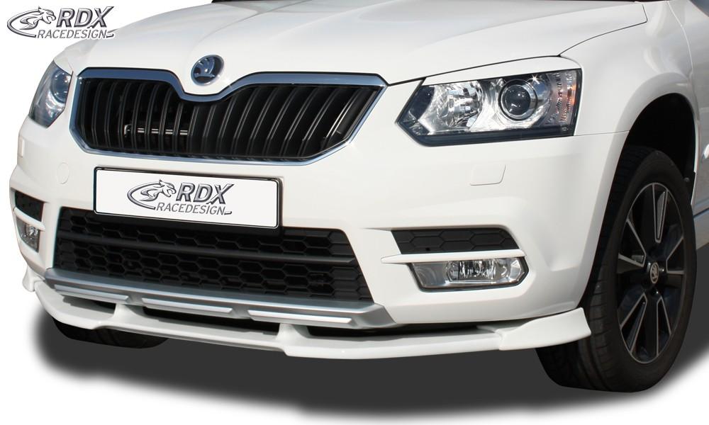 RDX Frontspoiler VARIO-X für SKODA Yeti 2014+ Frontlippe Front Ansatz Vorne Spoilerlippe