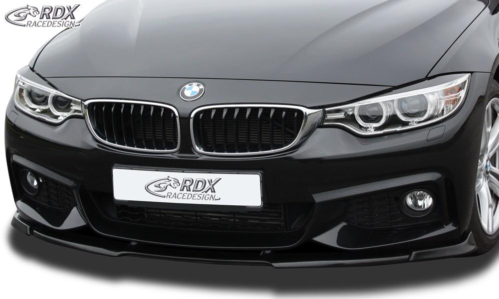 RDX Frontspoiler VARIO-X BMW 4er F32 / F33 / F36 M-Technik Frontlippe Front Ansatz Vorne Spoilerlippe