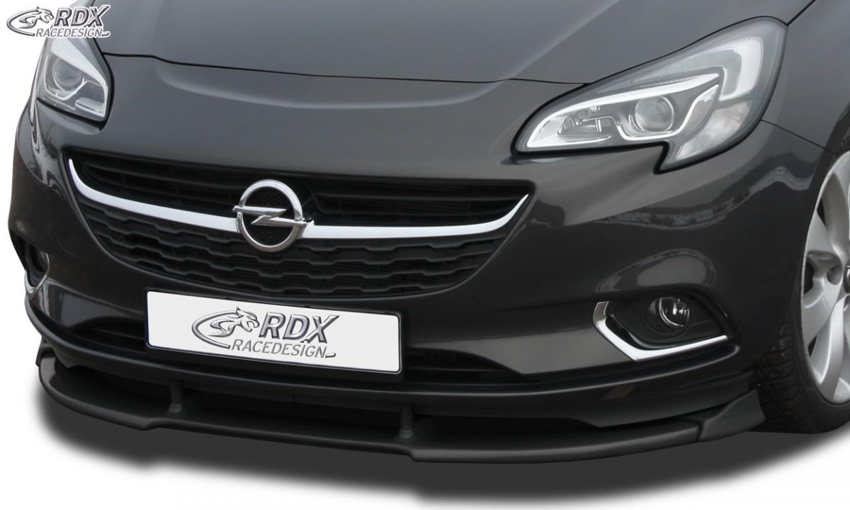RDX Frontspoiler VARIO-X OPEL Corsa E Frontlippe Front Ansatz Vorne Spoilerlippe