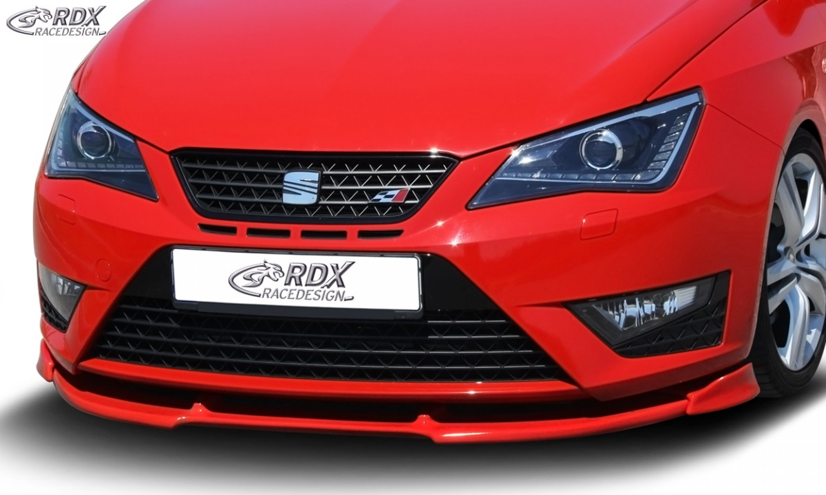RDX Frontspoiler VARIO-X SEAT Ibiza 6J Cupra Facelift 04/2012+ Frontlippe Front Ansatz Vorne Spoilerlippe