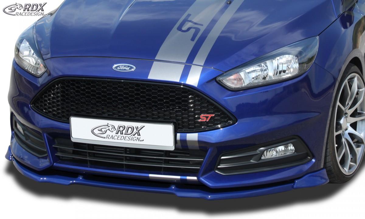 RDX Frontspoiler VARIO-X FORD Focus 3 ST Facelift (2015+) Frontlippe Front Ansatz Vorne Spoilerlippe