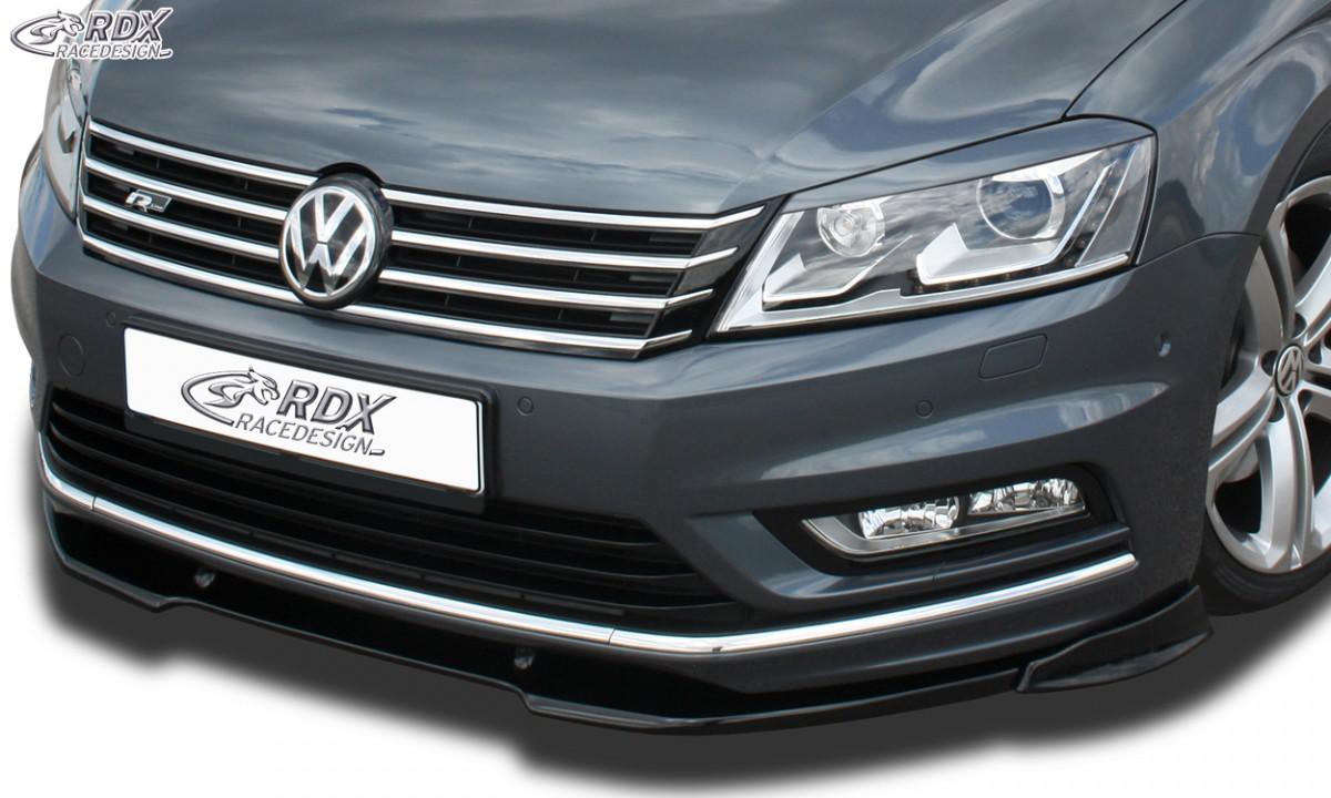 RDX Frontspoiler VARIO-X VW Passat B7 / 3C R-Line Frontlippe Front Ansatz Vorne Spoilerlippe