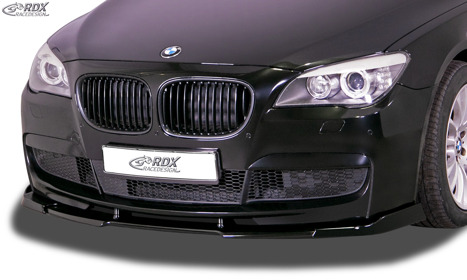RDX Front Spoiler VARIO-X BMW 7-series F01 / F02 for cars with M-Package (2008-2015) Front Lip Splitter