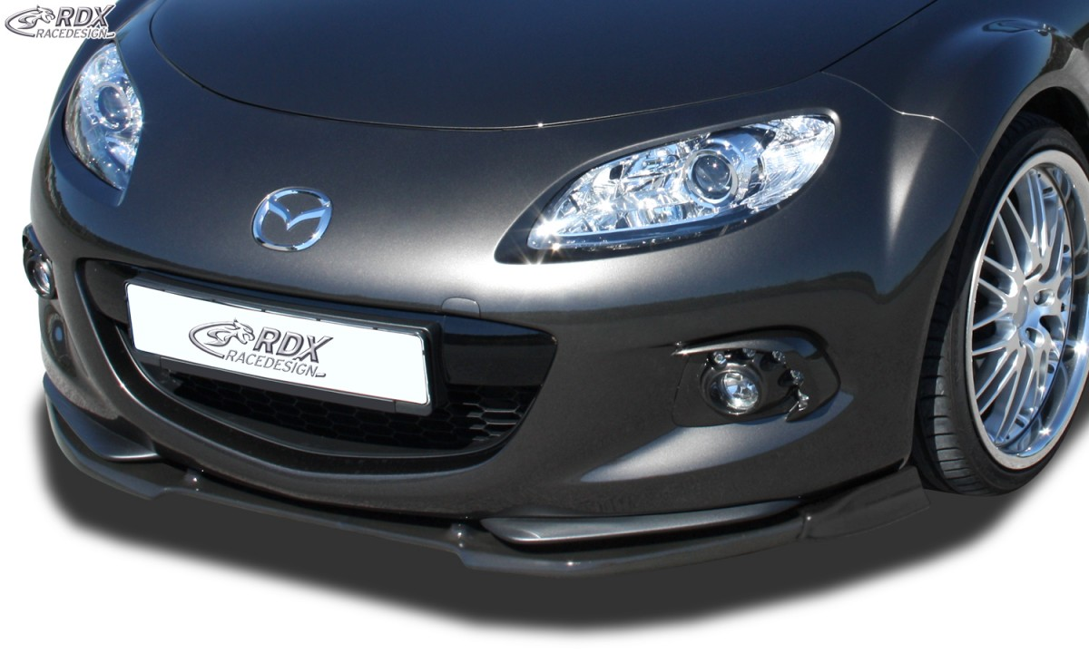 RDX Frontspoiler VARIO-X MAZDA MX5 NC 2012-2015 Frontlippe Front Ansatz Vorne Spoilerlippe