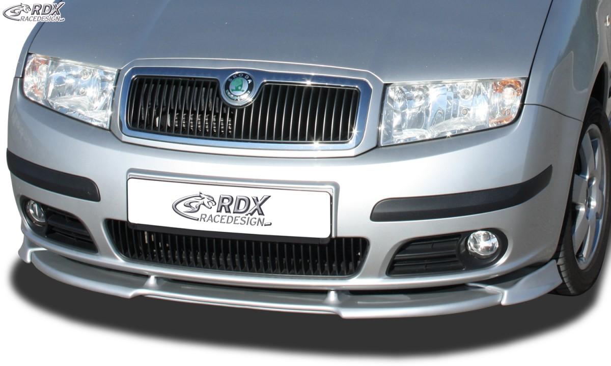 RDX Frontspoiler VARIO-X SKODA Fabia 1 (6Y) 2004+ (nicht GT / RS) Frontlippe Front Ansatz Vorne Spoilerlippe