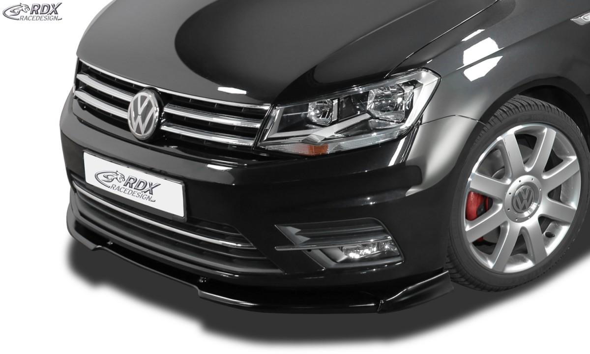 RDX Frontspoiler VARIO-X VW Caddy 2K 2015+ Frontlippe Front Ansatz Vorne Spoilerlippe