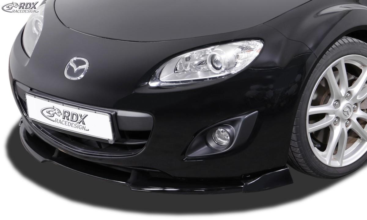 RDX Frontspoiler VARIO-X MAZDA MX5 (NC) 2008-2012 Frontlippe Front Ansatz Vorne Spoilerlippe