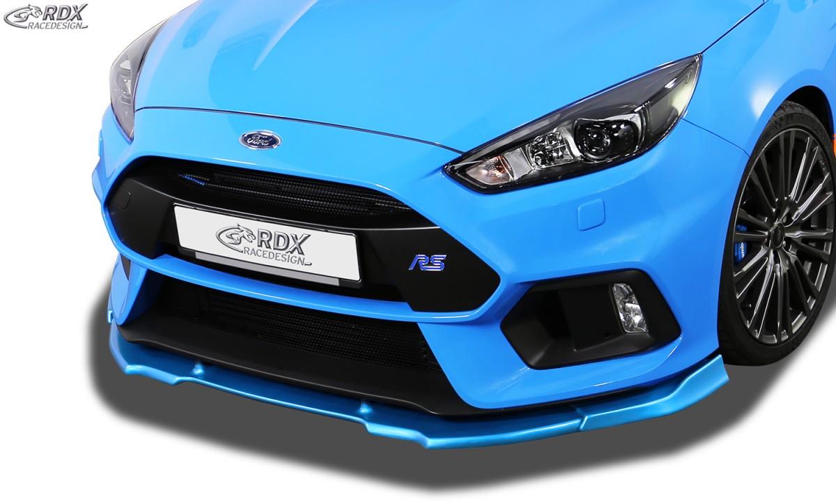RDX Frontspoiler VARIO-X FORD Focus 3 RS (2016+) Frontlippe Front Ansatz Vorne Spoilerlippe