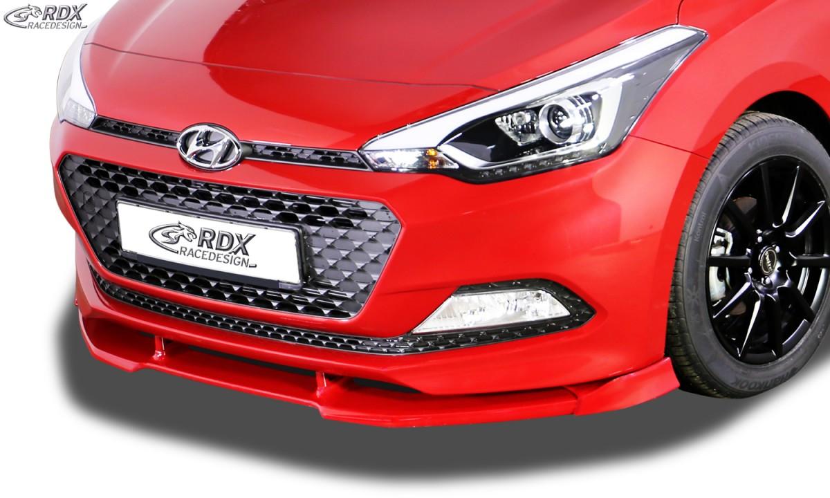 RDX Frontspoiler VARIO-X HYUNDAI i20 GB Frontlippe Front Ansatz Vorne Spoilerlippe