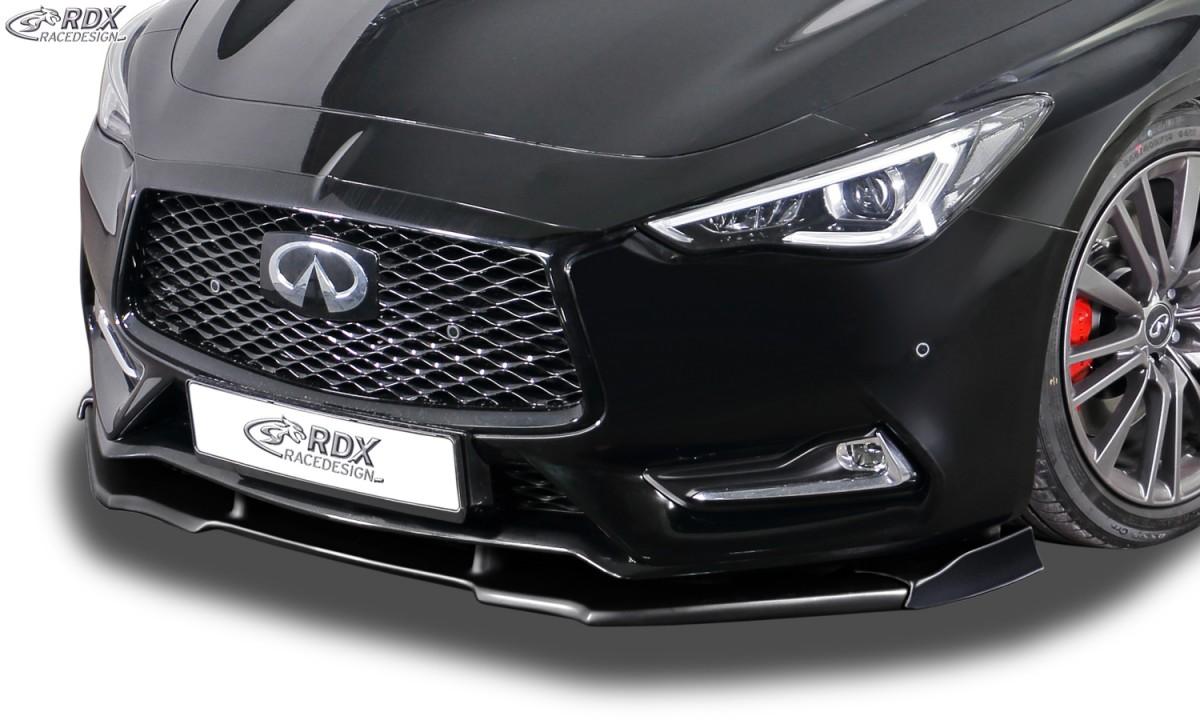 RDX Frontspoiler VARIO-X für INFINITI Q60 Frontlippe Front Ansatz Vorne Spoilerlippe