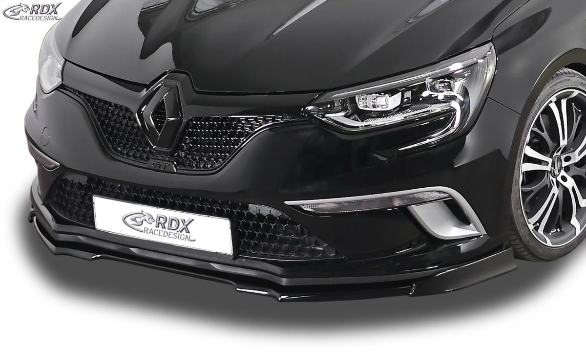 rdx front spoiler for vario x renault megane 4 sedan. Black Bedroom Furniture Sets. Home Design Ideas