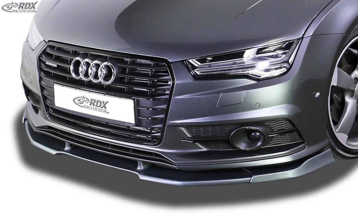 RDX Frontspoiler VARIO-X für AUDI A7 & S7 2014-2018 (S-Line bzw. S7 Frontstoßstange) Frontlippe Front Ansatz Vorne Spoilerlippe