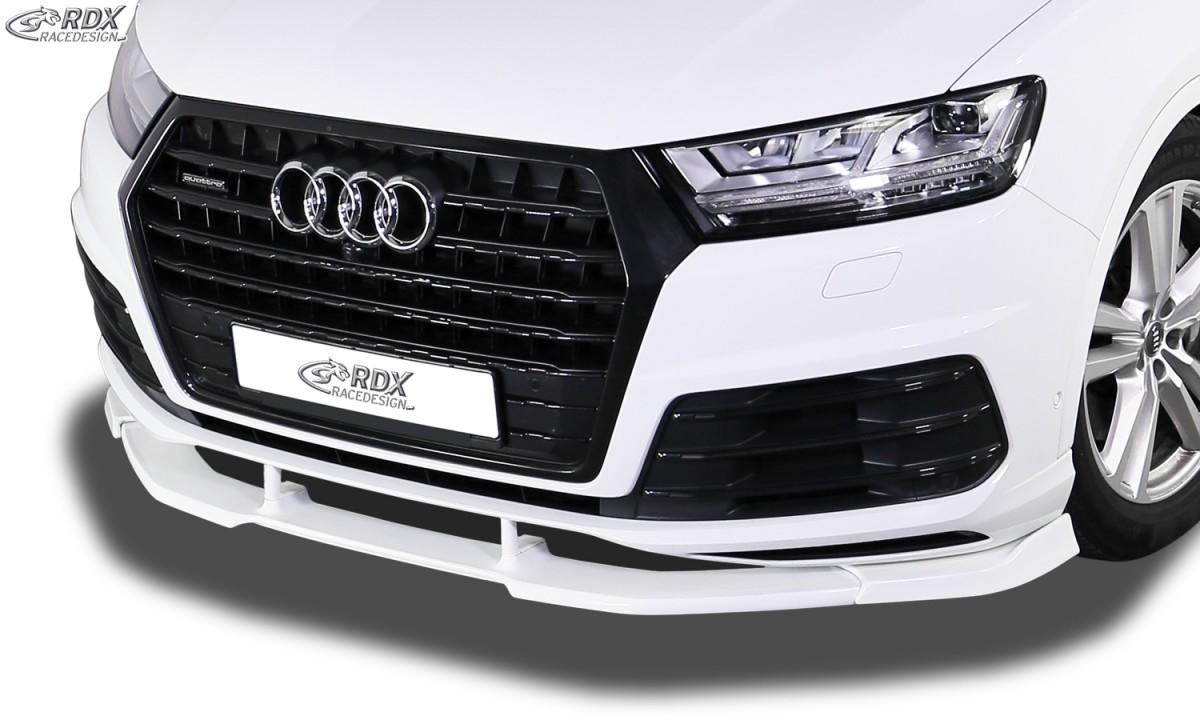 RDX Frontspoiler VARIO-X AUDI Q7 S-Line (4M) Frontlippe Front Ansatz Vorne Spoilerlippe