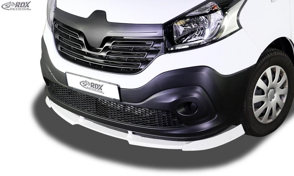 RDX Frontspoiler VARIO-X für RENAULT Trafic III (2014+) / für NISSAN NV300 (2016+) / für OPEL Vivaro B (2014+)