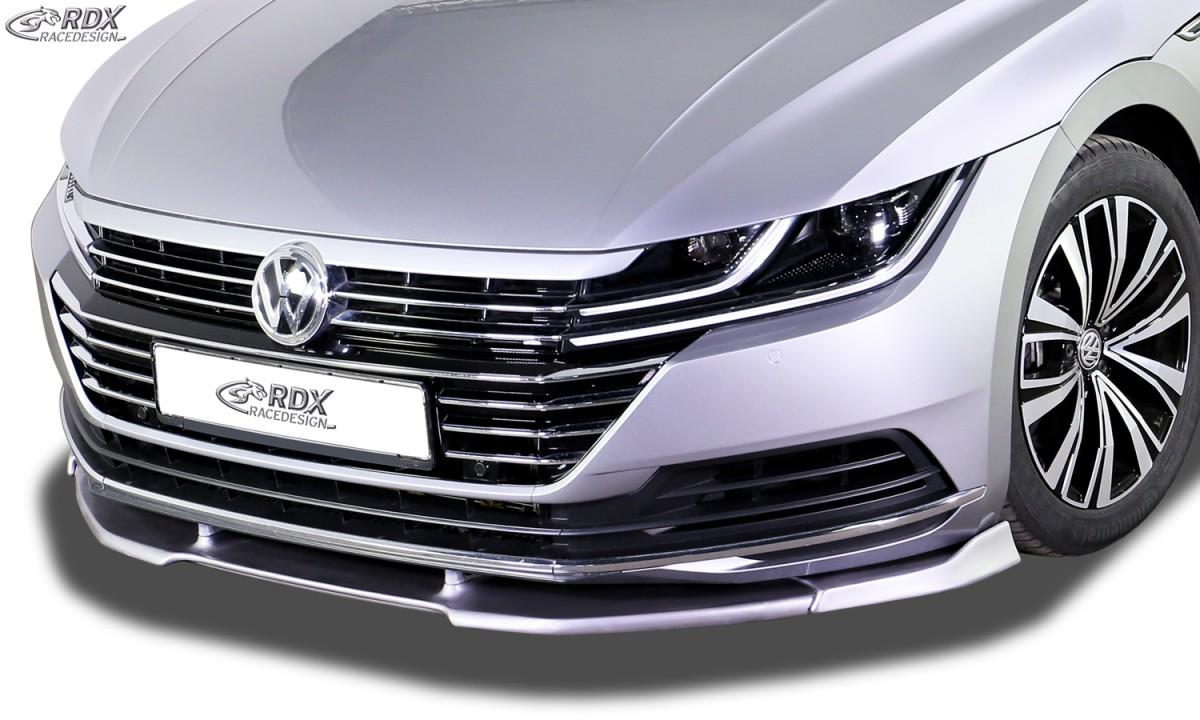 RDX Frontspoiler VARIO-X VW Arteon Frontlippe Front Ansatz Vorne Spoilerlippe