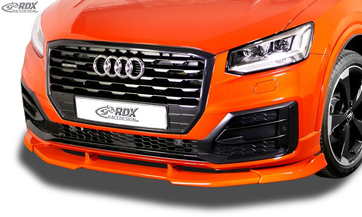 RDX Front Spoiler VARIO-X AUDI Q2 S-Line 2016+ Front Lip Splitter