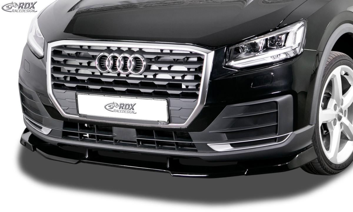 RDX Frontspoiler VARIO-X AUDI Q2 2016+ Frontlippe Front Ansatz Vorne Spoilerlippe