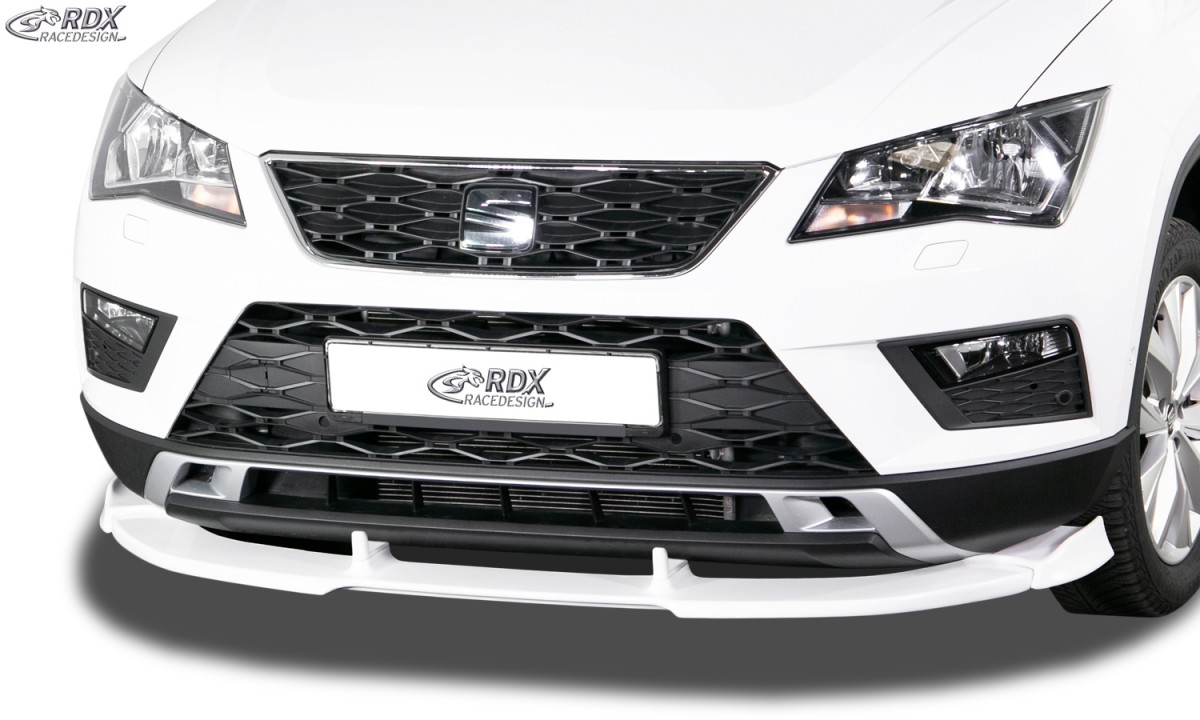 RDX Frontspoiler VARIO-X für SEAT Ateca Frontlippe Front Ansatz Vorne Spoilerlippe