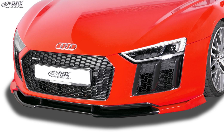 RDX Frontspoiler VARIO-X AUDI R8 / R8 Spyder (4S) 2015+ Frontlippe Front Ansatz Vorne Spoilerlippe