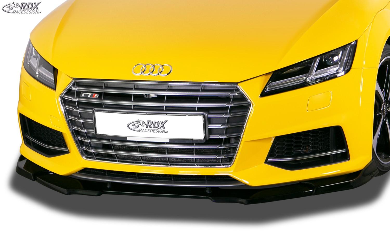 RDX Frontspoiler VARIO-X AUDI TTS (FV/8S) Frontlippe Front Ansatz Vorne Spoilerlippe