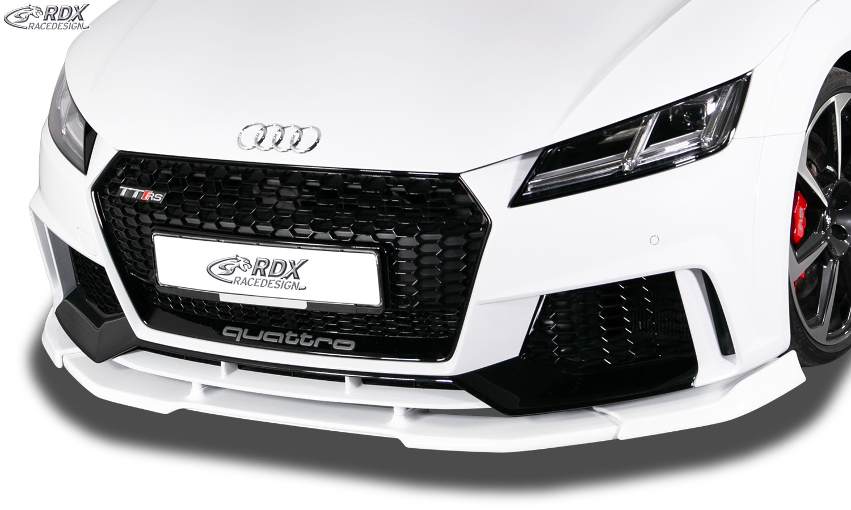 RDX Frontspoiler VARIO-X AUDI TT RS (FV/8S) Frontlippe Front Ansatz Vorne Spoilerlippe
