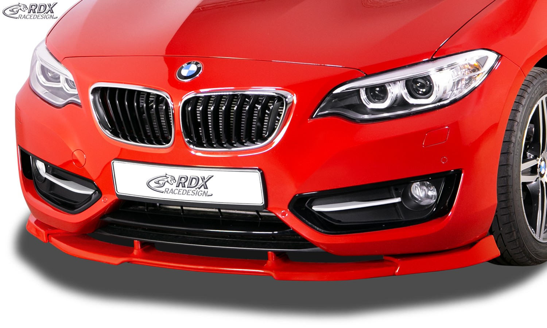 RDX Frontspoiler VARIO-X BMW 2er F22 / F23 Frontlippe Front Ansatz Vorne Spoilerlippe