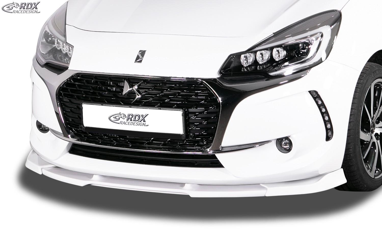 RDX Frontspoiler VARIO-X CITROEN DS3 (2016+) Frontlippe Front Ansatz Vorne Spoilerlippe
