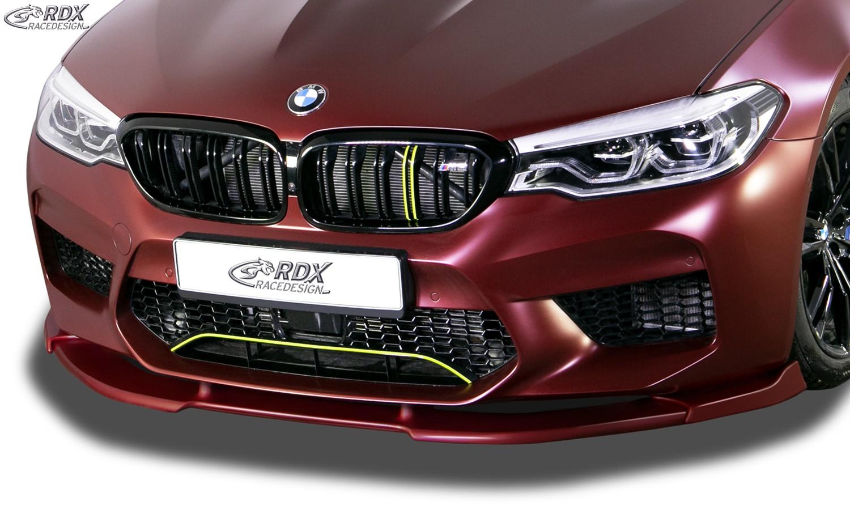 RDX Frontspoiler VARIO-X BMW 5er M5 F90, G30 Frontlippe Front Ansatz Vorne Spoilerlippe