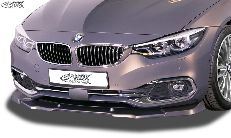 RDX Frontspoiler VARIO-X BMW 4er F32 / F33 / F36 (-2017) Frontlippe Front Ansatz Vorne Spoilerlippe