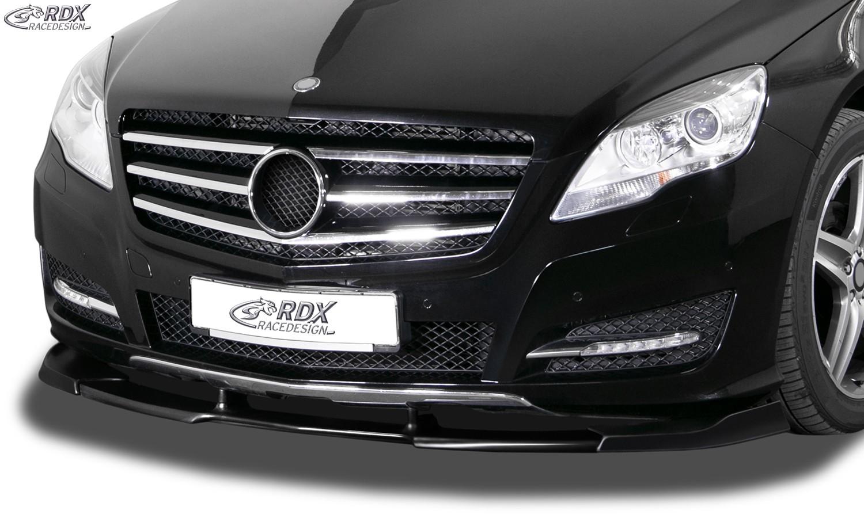 RDX Frontspoiler VARIO-X MERCEDES R-Klasse W251 (2010-2017) Frontlippe Front Ansatz Vorne Spoilerlippe