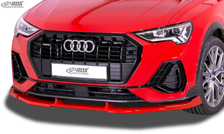 RDX Front Spoiler VARIO-X for AUDI Q3 S-Line (F3) Front Lip Splitter