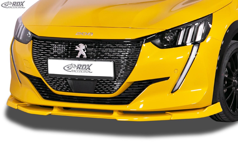 RDX Frontspoiler VARIO-X für PEUGEOT 208 (2019+) Frontlippe Front Ansatz Vorne Spoilerlippe