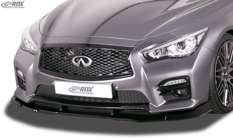 RDX Frontspoiler VARIO-X für INFINITI Q50 Frontlippe Front Ansatz Vorne Spoilerlippe