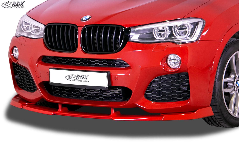 RDX Frontspoiler VARIO-X für BMW X3 F25 M-Sport & M-Technik 2014-2017 Frontlippe Front Ansatz Vorne Spoilerlippe