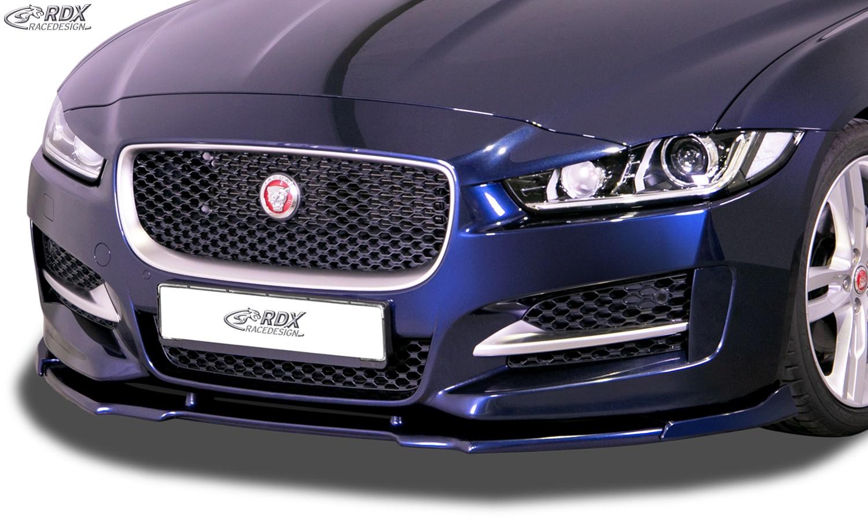 RDX Frontspoiler VARIO-X für JAGUAR XE R-Sport (2015-2020) Frontlippe Front Ansatz Vorne Spoilerlippe