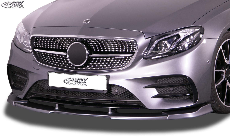 "RDX Frontspoiler VARIO-X für MERCEDES E-Klasse AMG-Line & E43 AMG W213 / S213 (2016-2020) ""Design 2"""