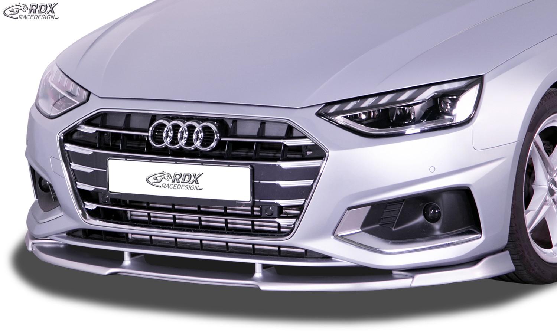 RDX Frontspoiler VARIO-X für AUDI A4 8W B9 Facelift (2019+) Frontlippe Front Ansatz Vorne Spoilerlippe