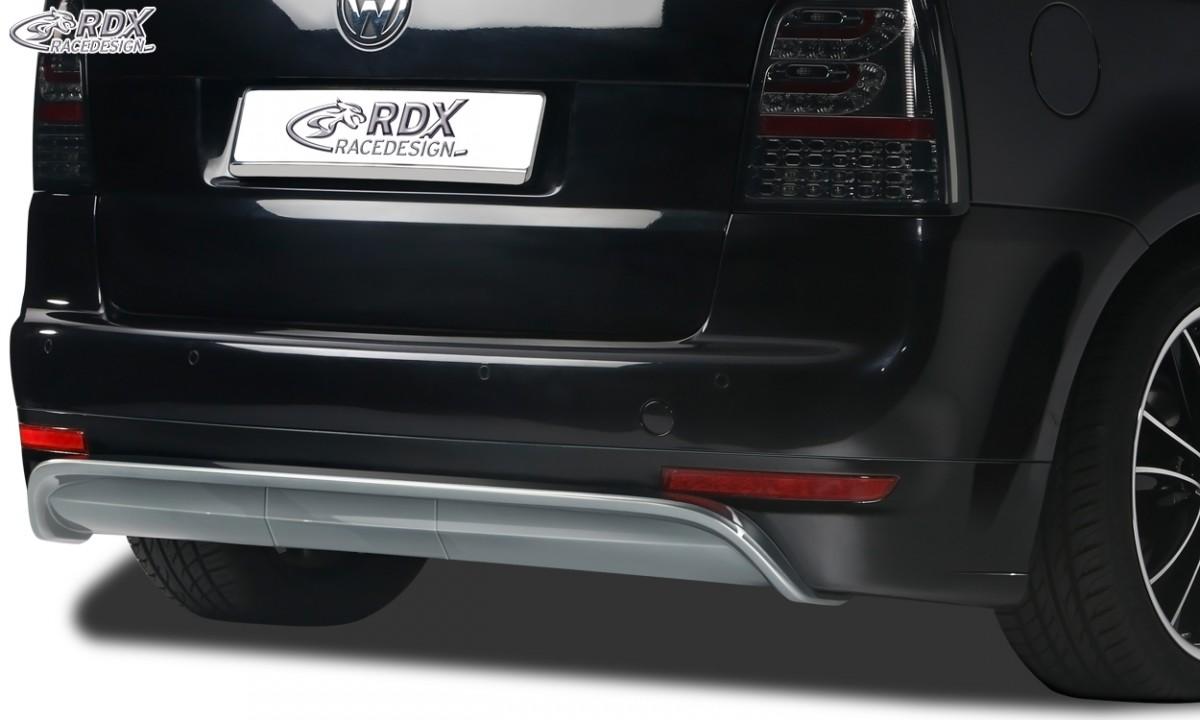 rdx rear bumper extension vw touran 1t incl facelift mod. Black Bedroom Furniture Sets. Home Design Ideas