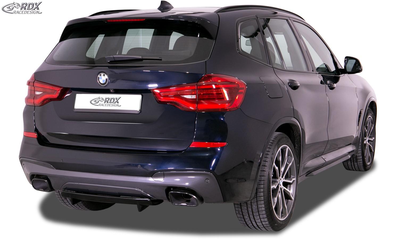 RDX Heckdiffusor U-Diff XL BMW X3 (G01) für M-Sport & M-Aerodynamik-Paket Diffusor Heck Ansatz