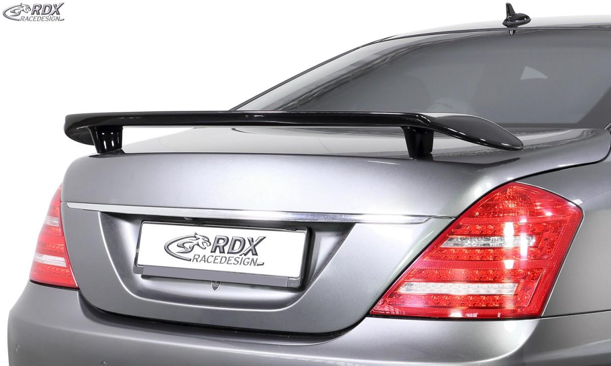 RDX Heckspoiler MERCEDES S-Klasse W221 Heckflügel Spoiler