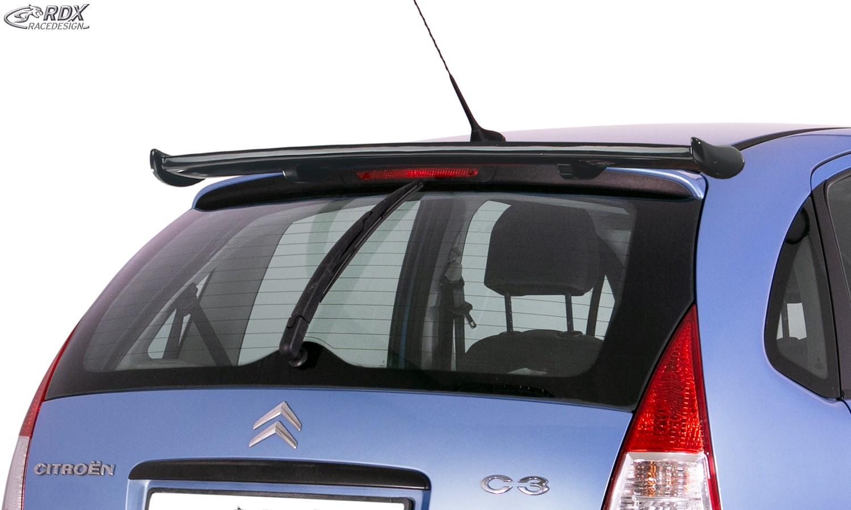 RDX Heckspoiler für CITROEN C3 2002-2009 Dachspoiler Spoiler