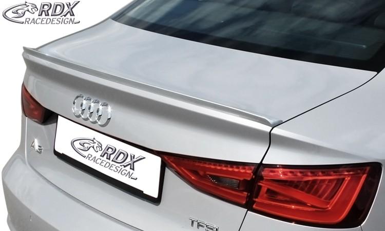 RDX Hecklippe AUDI A3 8VS Limousine , 8V7 Cabrio Heckklappenspoiler Heckspoiler
