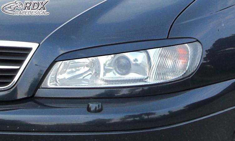 RDX Scheinwerferblenden für OPEL Omega B Facelift 1999+ Böser Blick