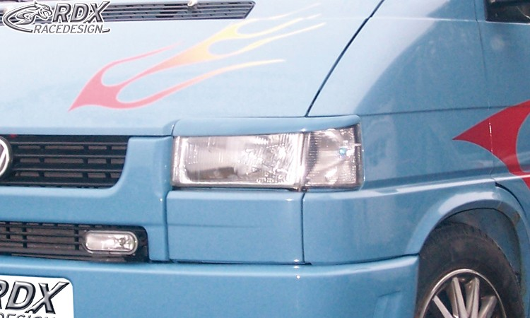 RDX Scheinwerferblenden VW T4 alter / kurzer Vorderwagen Böser Blick