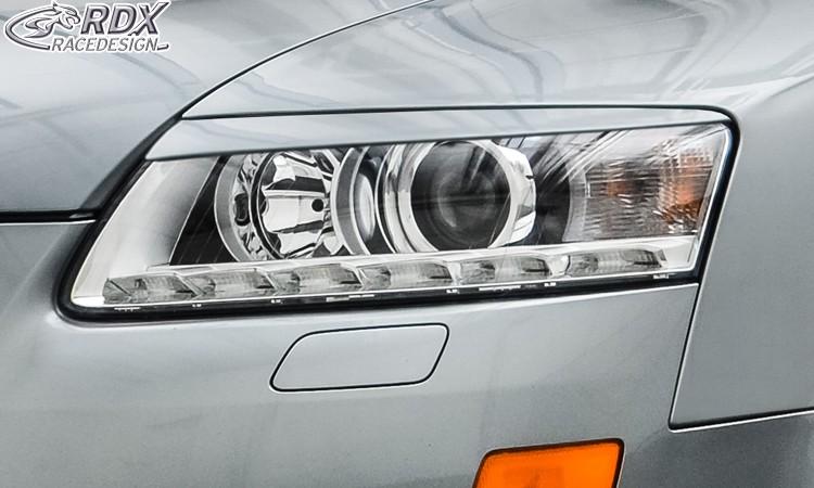 RDX Scheinwerferblenden für AUDI A6 4F Facelift 2008-2011 Böser Blick