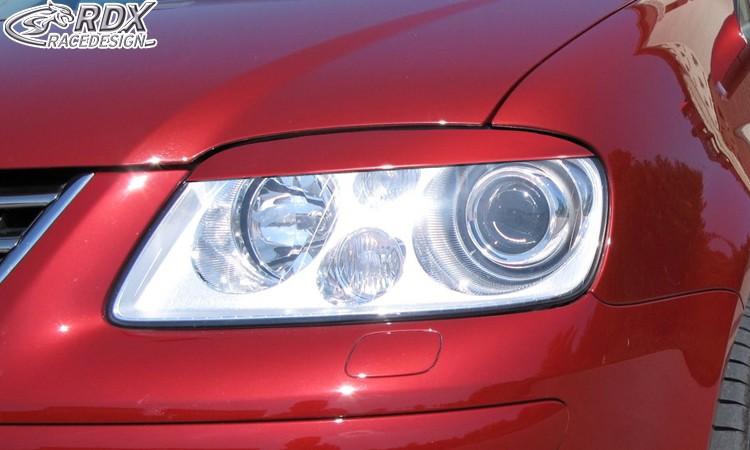 RDX Scheinwerferblenden VW Touran 1T -2006 / Caddy -2010 Böser Blick