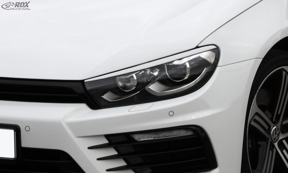 RDX Scheinwerferblenden VW Scirocco 3 (2014+) Böser Blick
