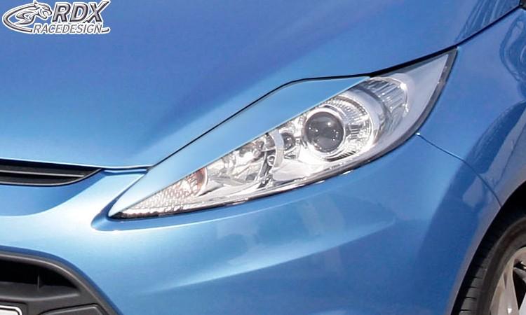 RDX Scheinwerferblenden für FORD Fiesta MK7 JA8 JR8 (2008-2012) Böser Blick