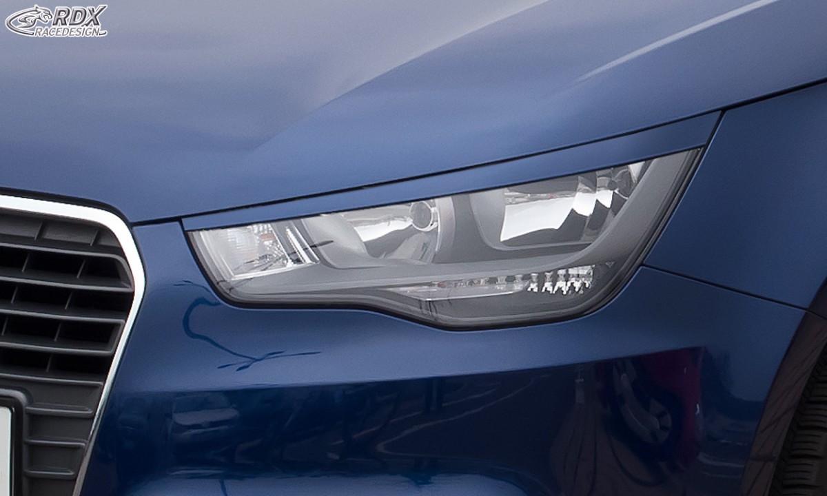 RDX Scheinwerferblenden für AUDI A1 8X & A1 8XA Sportback (-01/2015) Böser Blick