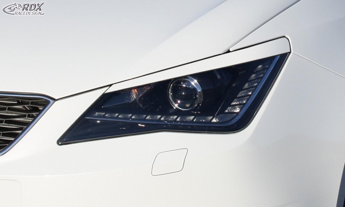 RDX Scheinwerferblenden Seat Ibiza 6J incl. ST & SC Böser Blick